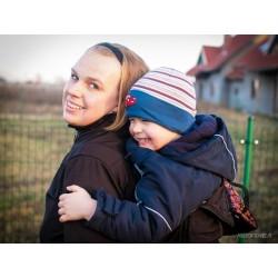 Kurtka softshell do noszenia dzieci Twiga - Na zamówienie