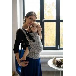 Nosidełko KAVKA multi-age / dove braid